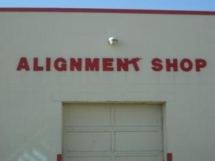 Allignment Shop